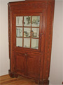 Find antique pine furniture, dining room hutches, tables.