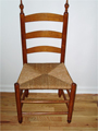Antique chairs - dining room, high chairs, windsor, ladderback and more.