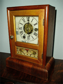 Mantel Clock by Seth Thomas dates from the late 1800's.
